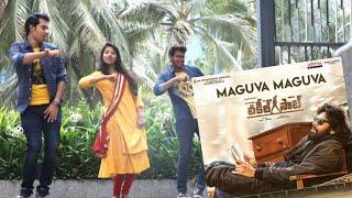 Gambar cover VakeelSaab - Maguva Maguva dance video   Pawan Kalyan   Sid Sriram   Thaman S   deepakk