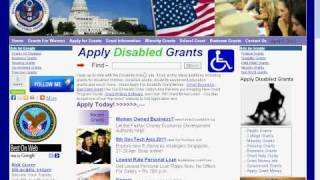 Federal Grants for Disabled