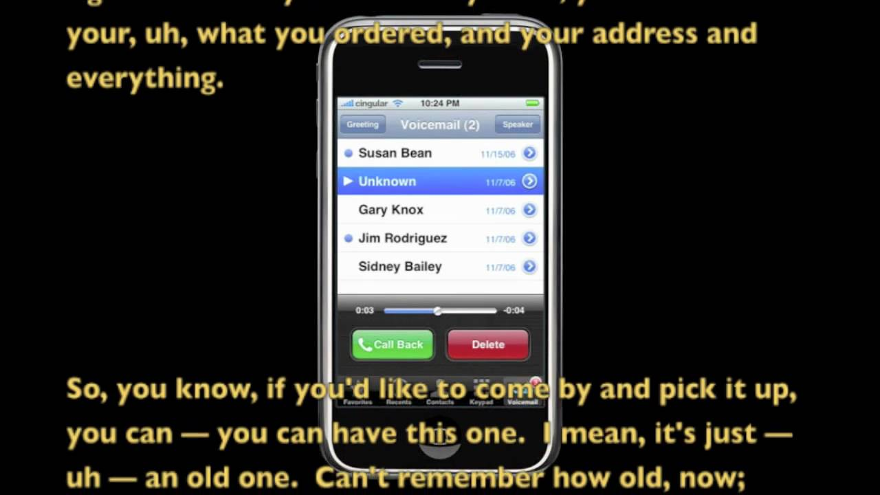 Old Woman Leaves Crazy Voicemail Youtube