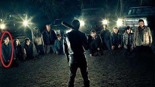 glenn death scene the walking dead season 7 mort de glenn twd s7