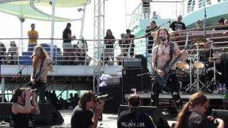 Tyr - Regin Smidur, Live @ 70000 tons of Metal Cruise 2011