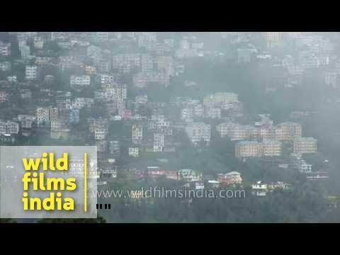 Modern Houses Atop Hills In Himachal Pradesh