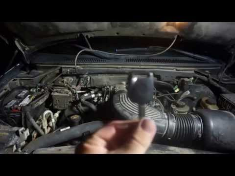 2001 FORD EXPEDITION: CRANK NO START, KEY ISSUE