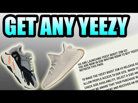 How To Get ANY YEEZY On Adidas.com ! | Get Yeezys For RETAIL WITHOUT A Bot !!!