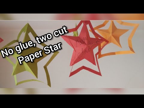 DIY:How to Make Easy and simple Paper Star /Star hanging tutorial for decoration @ Papersai arts