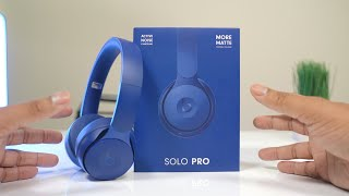 Beats Solo Pro Headphones Unboxing + First Impressions