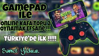 Online Kafa Topu 2 Gamepad (Joyistik) İle Oynamak Efsane!!!! Türkiye'de İlk /// Online Kafa Topu 2