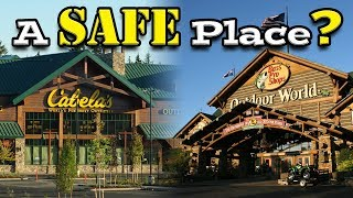 Safe camping at Cabelas (or Bass Pro Shops)? 🏕️