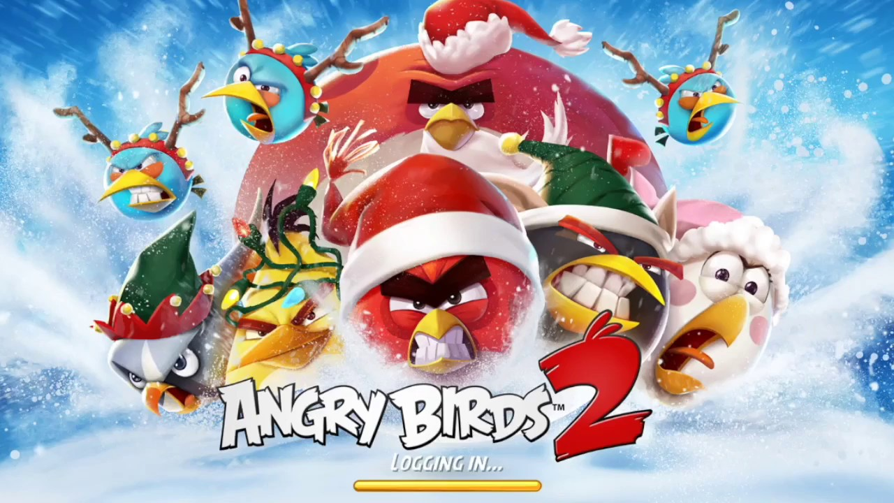 angry birds 2 christmas edition ios android new 2017 how to play step by step - Christmas Angry Birds