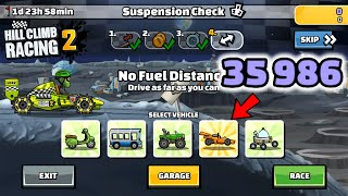 Hill Climb Racing 2 - 35986 points in SUSPENSION CHECK Team Evnet