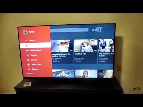 WATCHING YOUTUBE ON MY TV!