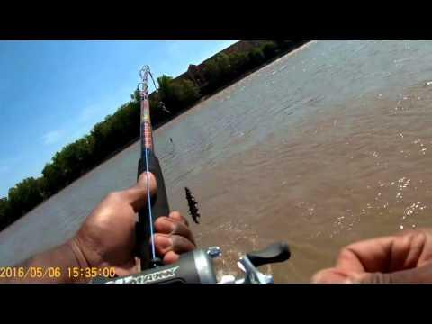 Catfishing on the Kaw