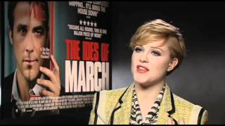 The Ides Of March - Evan Rachel Wood Interview