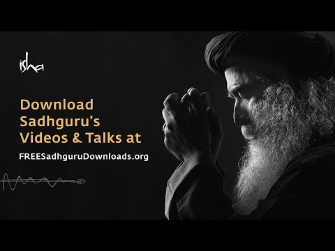 Why is Sadhguru Offering His Videos for Free Download?