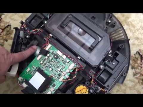 Ремонт робота пылесоса iLife V7S