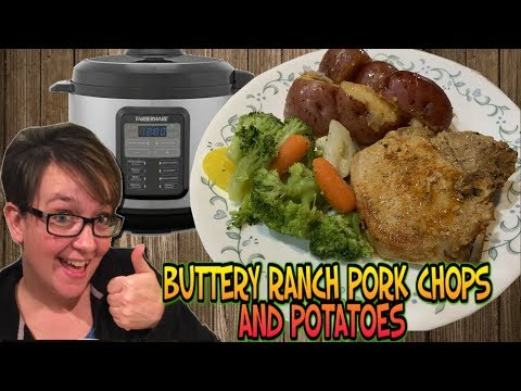 Making Food Monday: Pressure Cooker Buttery Ranch Pork Chops With Potatoes