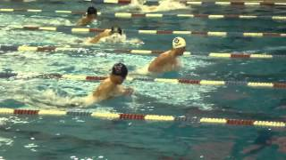 Section XI State Quals 100 Breast Ben and Gunther fight it out