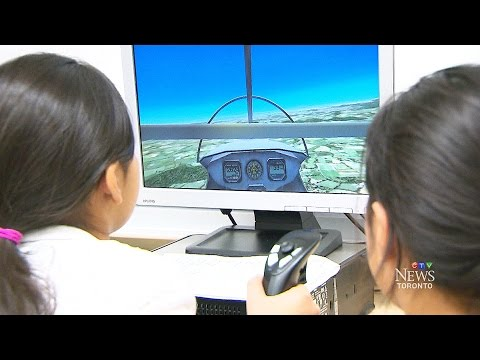 Simulated flying club takes off at Toronto-area school