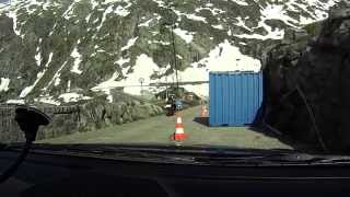 Driving from Grimsel Hospiz to Am Grimselpass (BE) CH / 06.2014/ FullHD