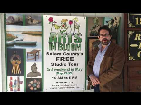 Gregg Perry 2017 Arts In Bloom Intro - Salem County, NJ / May 20-21