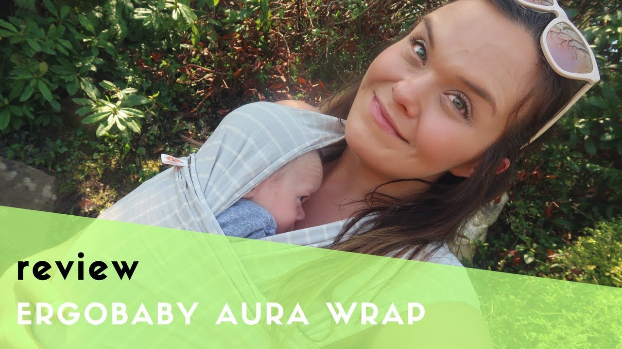 Ergobaby Aura Wrap Review Babywearing How To Tie A Stretchy Wrap