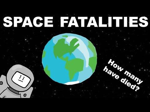 ¿cuantas muertes se han contado en la exploracion espacial?