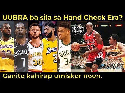 Lebron Steph at Durant PAANO MAKAKAKILOS sa GANITO Katinding Hand Checking noong Panahon ni Jordan?
