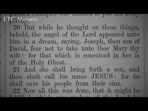 Matthew's Gospel, Chapter 1: A King James Verse-by-Verse Bible Study