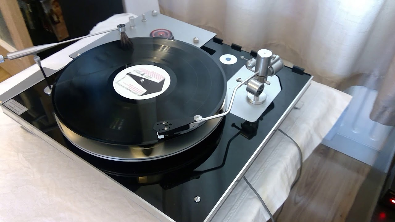 Reference Electronic Transcription Turntable by JA Michell