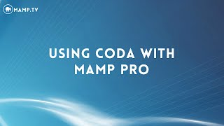 20 Using Coda with MAMP PRO