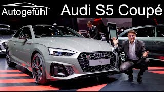 Audi S5 Coupé Review new Audi A5 Facelift Exterior Interior 2020 - Autogefühl