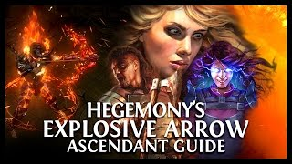 Path of Exile Ascendancy: Hege's Explosive Arrow Scion Ascendant Guide! Ele/Zerker