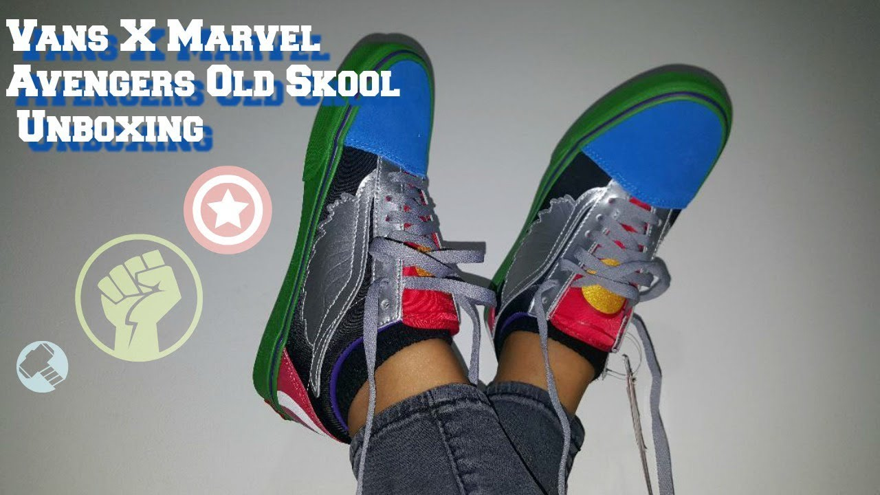 vans old skool marvel