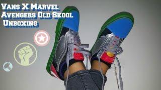 Marvel X Vans Avengers Old Skool