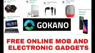 how to take free gadget in online