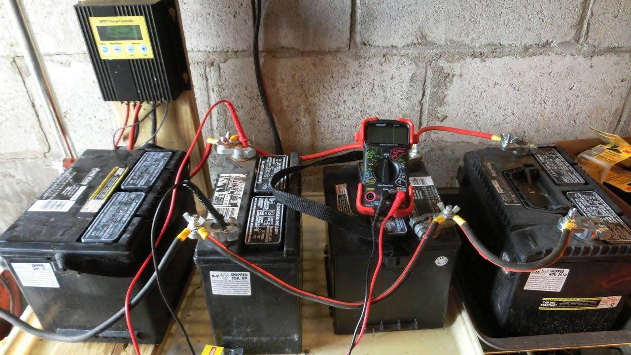 Solar Sunday 013 Off Grid Shed Build Battery Bank Mppt