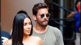 Kim Kardashian Stuns In Sexy Tube Top For Lunch With Scott Disick After Kourtney Forgives Him