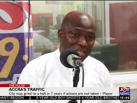 Accra's Traffic - The Pulse on JoyNews (20-4-18)
