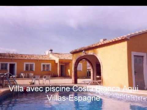 Location villa espagne avec piscine pas ch re youtube for Location villa espagne avec piscine privee pas cher