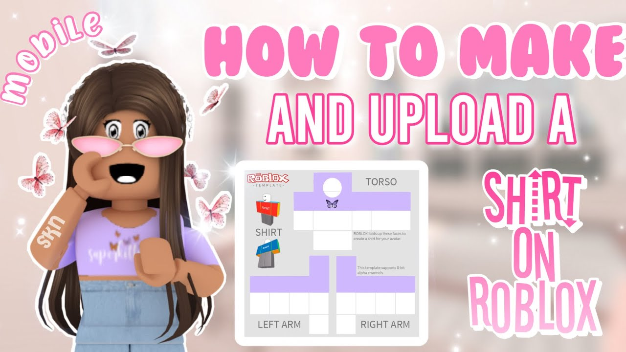 How to Make a Shirt on Roblox   MOBILE   EASY   12