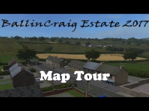 Farming Simulator 17 PS4 | BallinCraig Estate 2017 | Map Tour