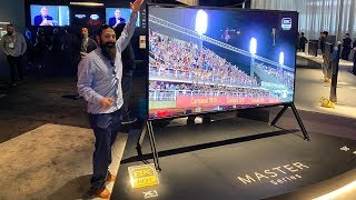 *New* 8K Sony TVs for 2020 | Sony Z8H 8K HDR Sony A8H 4K OLED |CES 2020