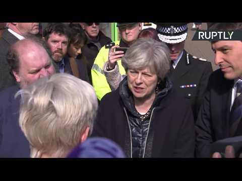 LIVE: Theresa May visits Salisbury where Skripals were poisoned