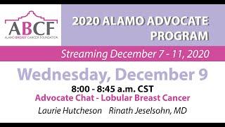 Advocate Chat - Lobular Breast Cancer