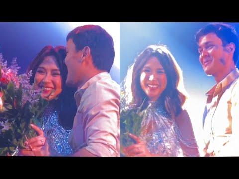 More ASHMATT Kilig! MATTEO, May KISS At Pa-FLOWERS Kay SARAH! Umakyat Ng STAGE!!