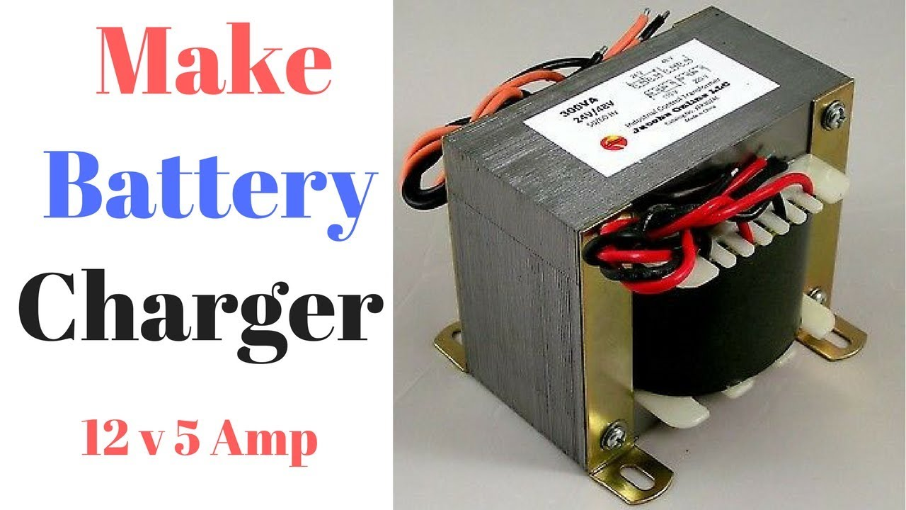 How To Make 12v 5 Amp Dc Battery Charger At Home Youtube 100 W Inverter Circuit Diagram