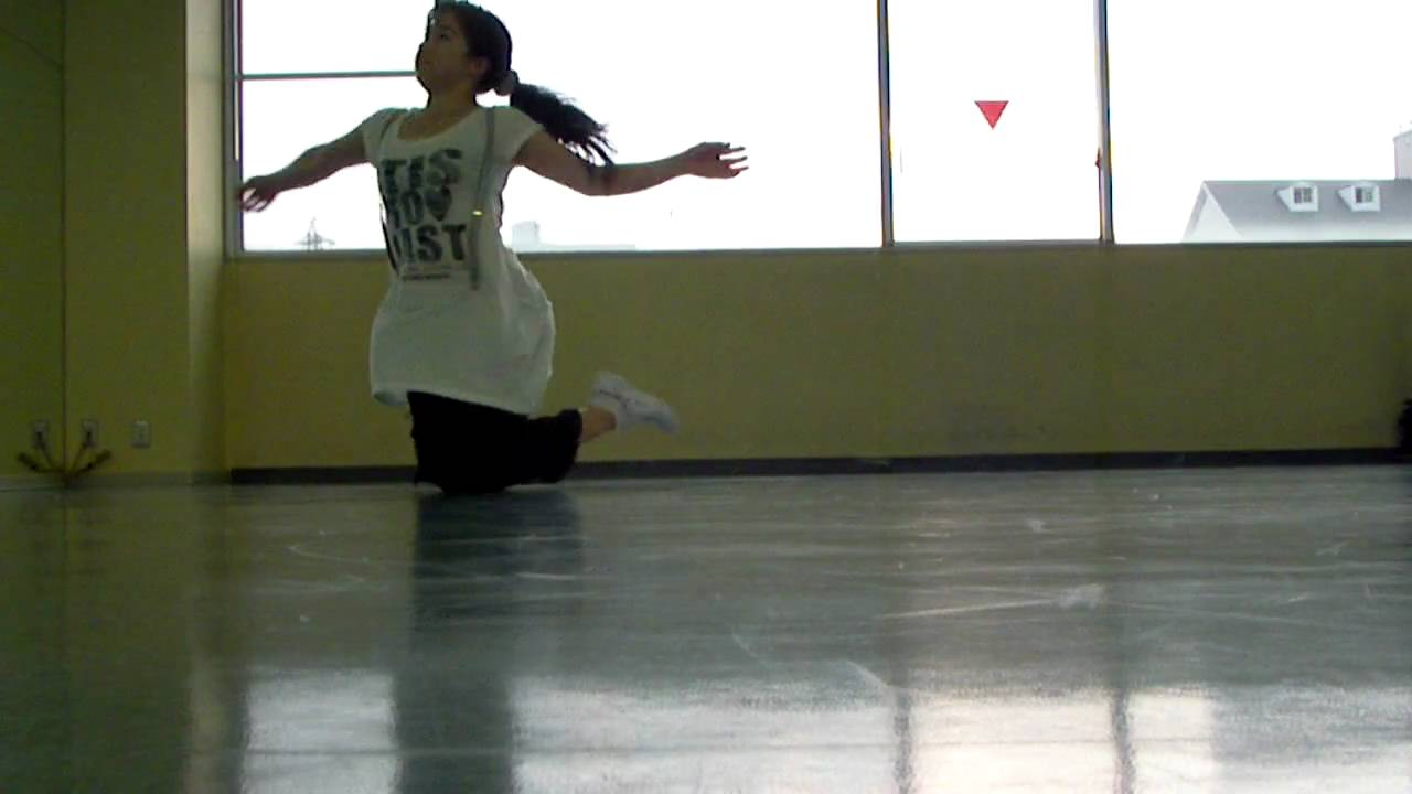 Knee turn : dance style - pop - YouTube