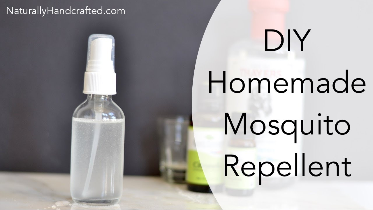Homemade Mosquito Repellent Made with
