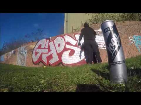 Graffiti - Ghost EA - Chrome Killers Episode 1
