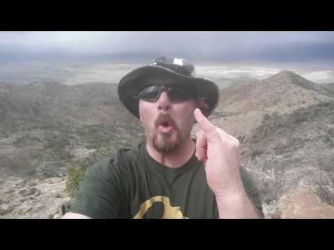 Searching for hidden treasure in New Mexico - Ladron Peak